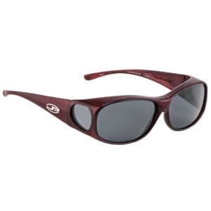fitovers classic large merlot with grey lens