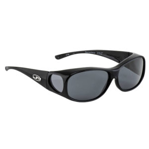 fitovers classic large black with grey lens