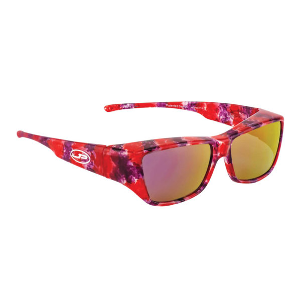 fitovers mirrored berry crush with purple mirror lens