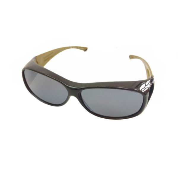 fitovers 2tone black olive grey lens