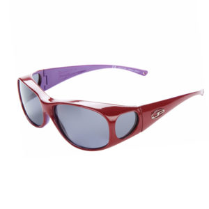 fitovers 2tone red purple grey lens