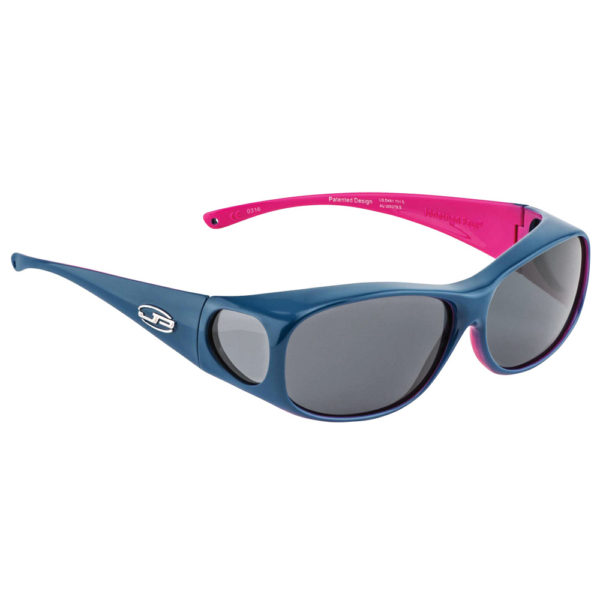fitovers two tone teal pink with grey lens