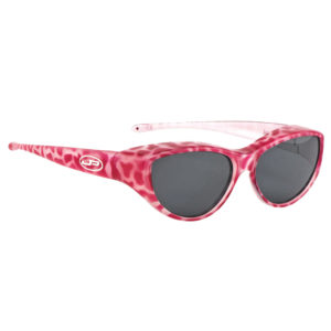 fitovers safari cat pink with grey lens