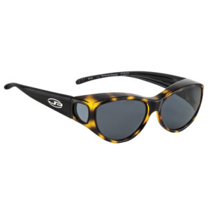 fitovers kitti kat leopard black with grey lens