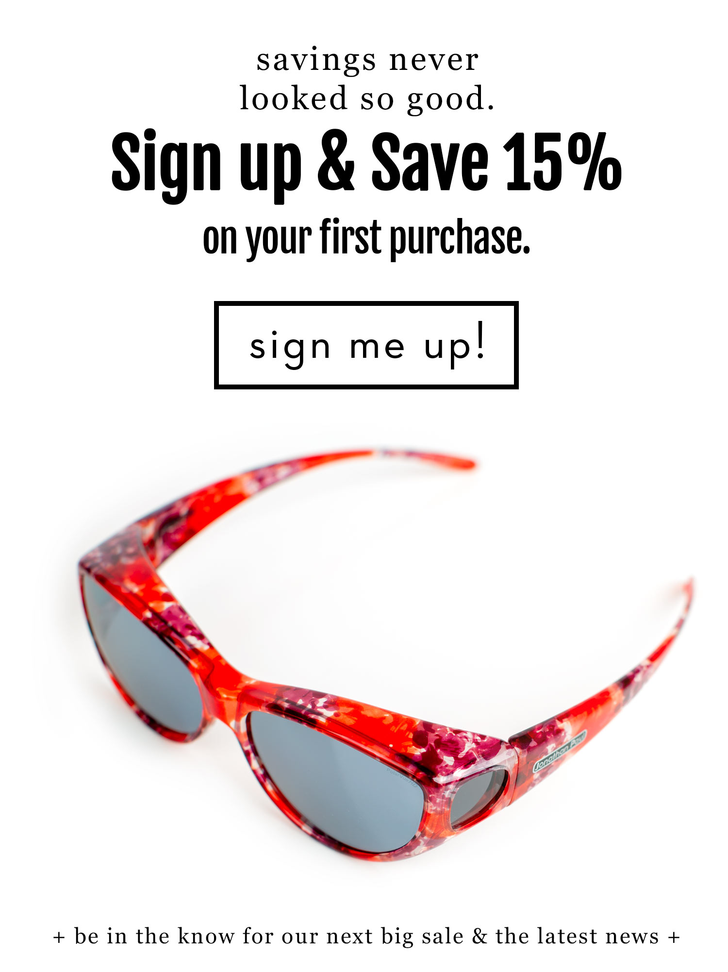 The Ikara Fitover Sunglasses with 15% off