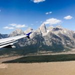 View of Grand Teton from Airplane for Jonathan Paul Eyewear by Dan Brown / Kapitol Photography