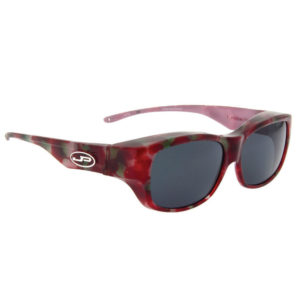 fitovers vintage red with grey lens