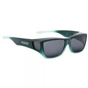 fitovers traveler emerald with grey lens