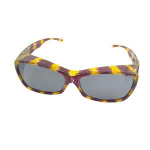 fitovers monarch golden purple grey lens