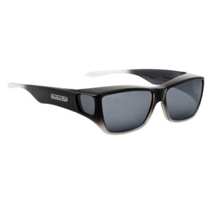 fitovers traveler black with grey lens