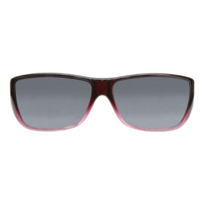 fitovers traveler plum pink grey lens front view