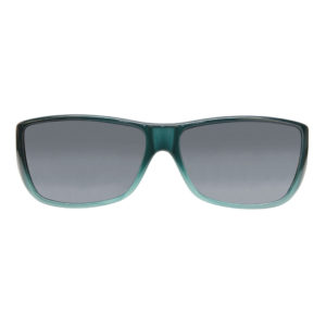 fitovers traveler emerald jade grey lens front view