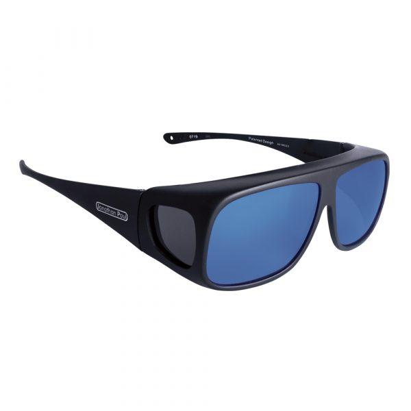 Jonathan Paul Fitovers Navigator black with mirror blue lens