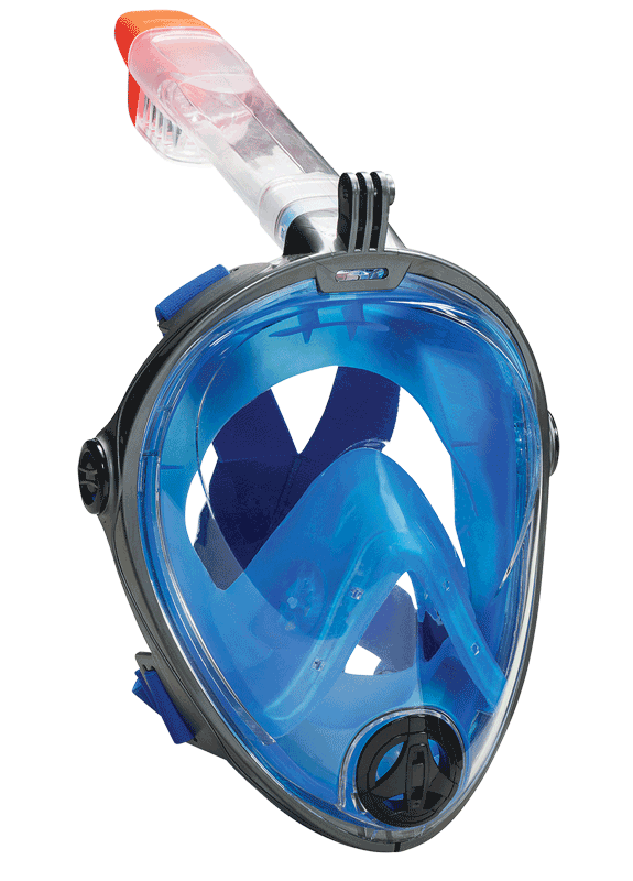 Full Face Snorkel Mask From Leader Swim An All New Underwater Experience