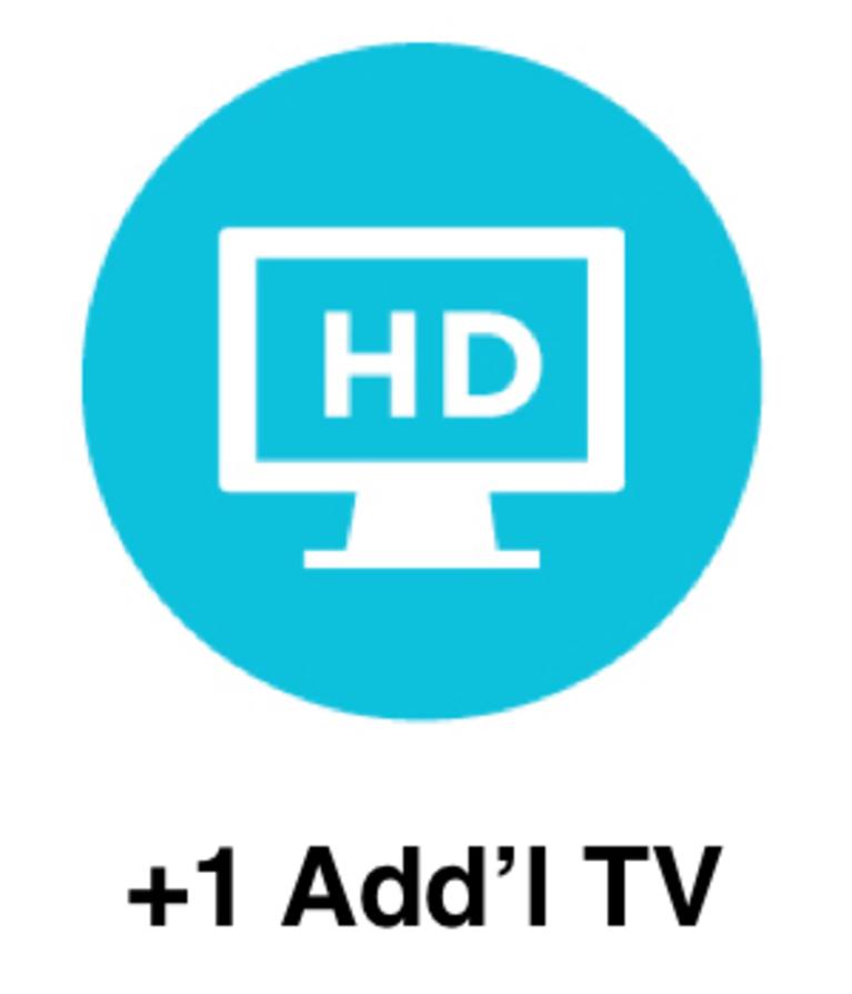 1 Additional HD Set Top Box