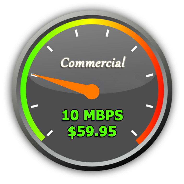 10Mbps Commercial Wireless Internet
