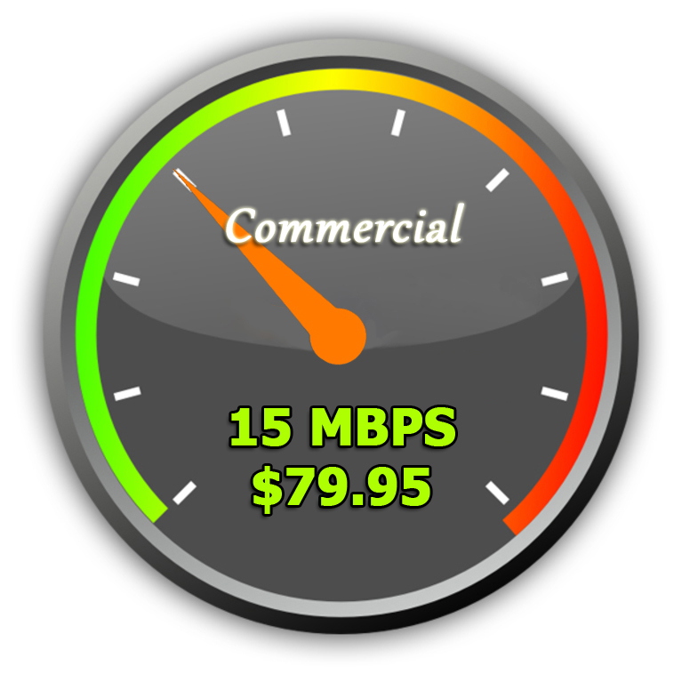 15Mbps Commercial Wireless Internet