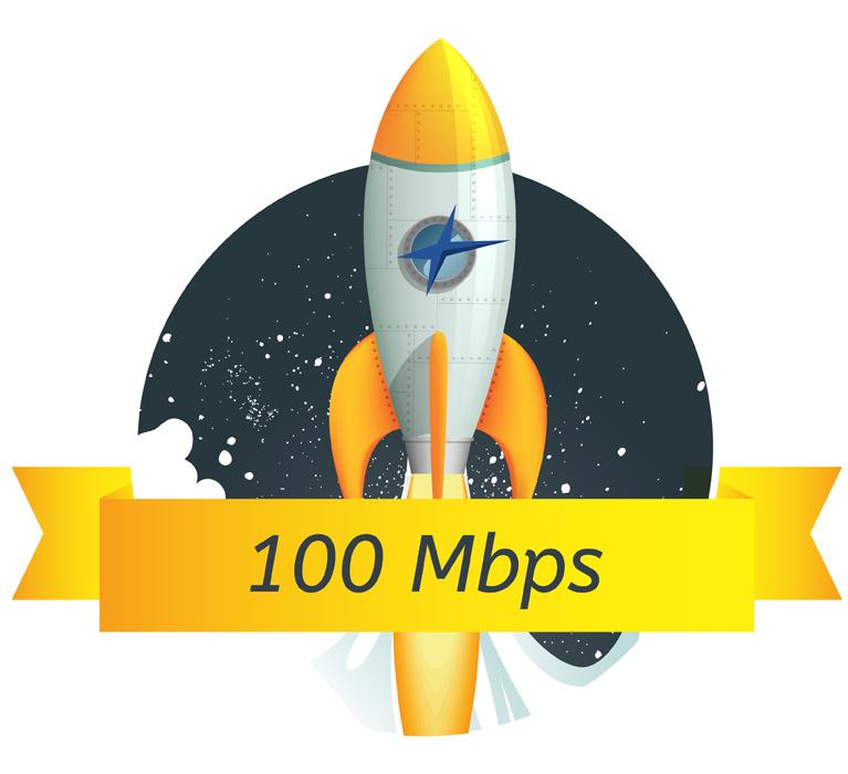 Velocity Internet 100 Mbps