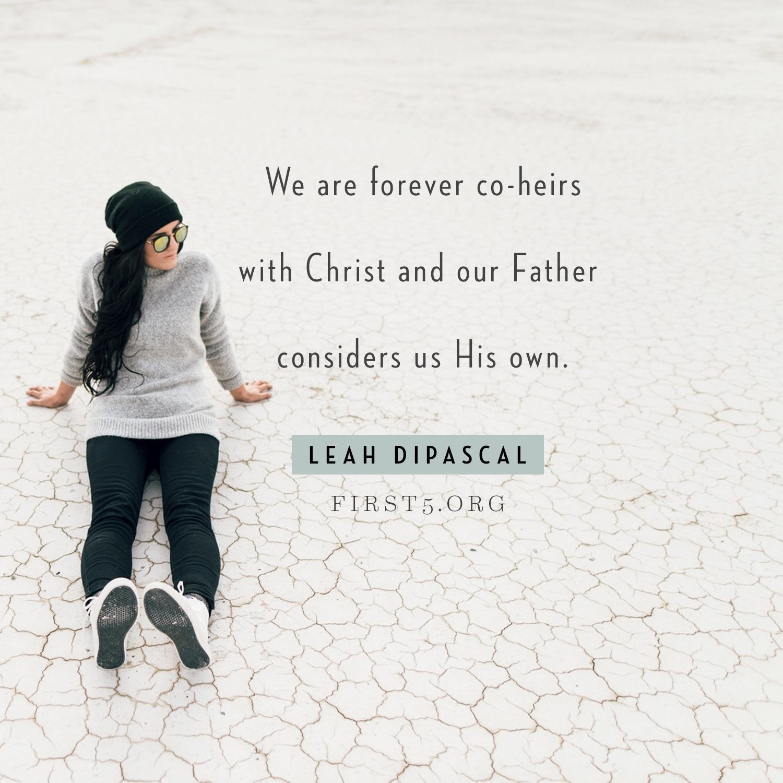 Lavishly Loved Children of God  first5 org