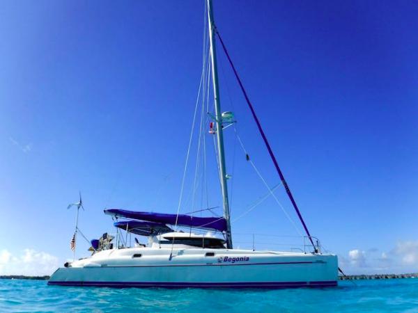 Begonia Sailing Blog | CruiserSat Net