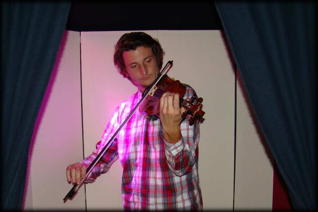 Recording Violin in the Iso Booth