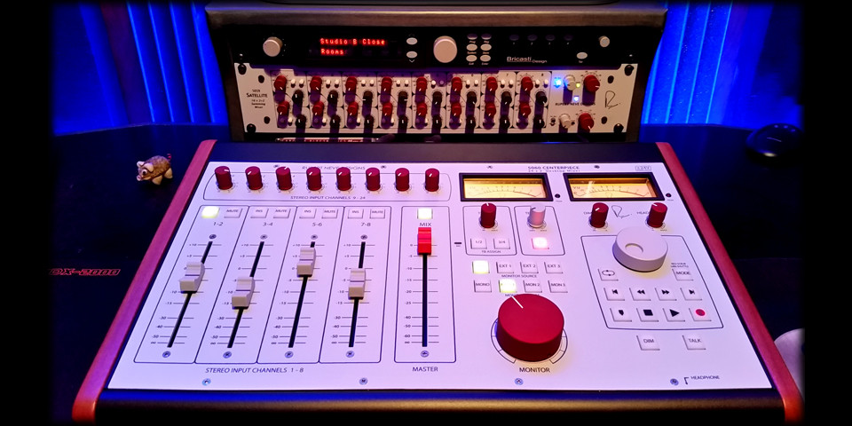 The heart of the studio - Neve 5060 summing mixer
