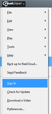 Unable to access RealPlayer Plus (premium) features – SUPPORT