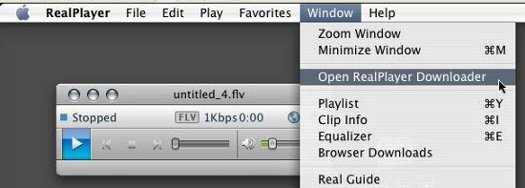 Open RealPlayer Downloader