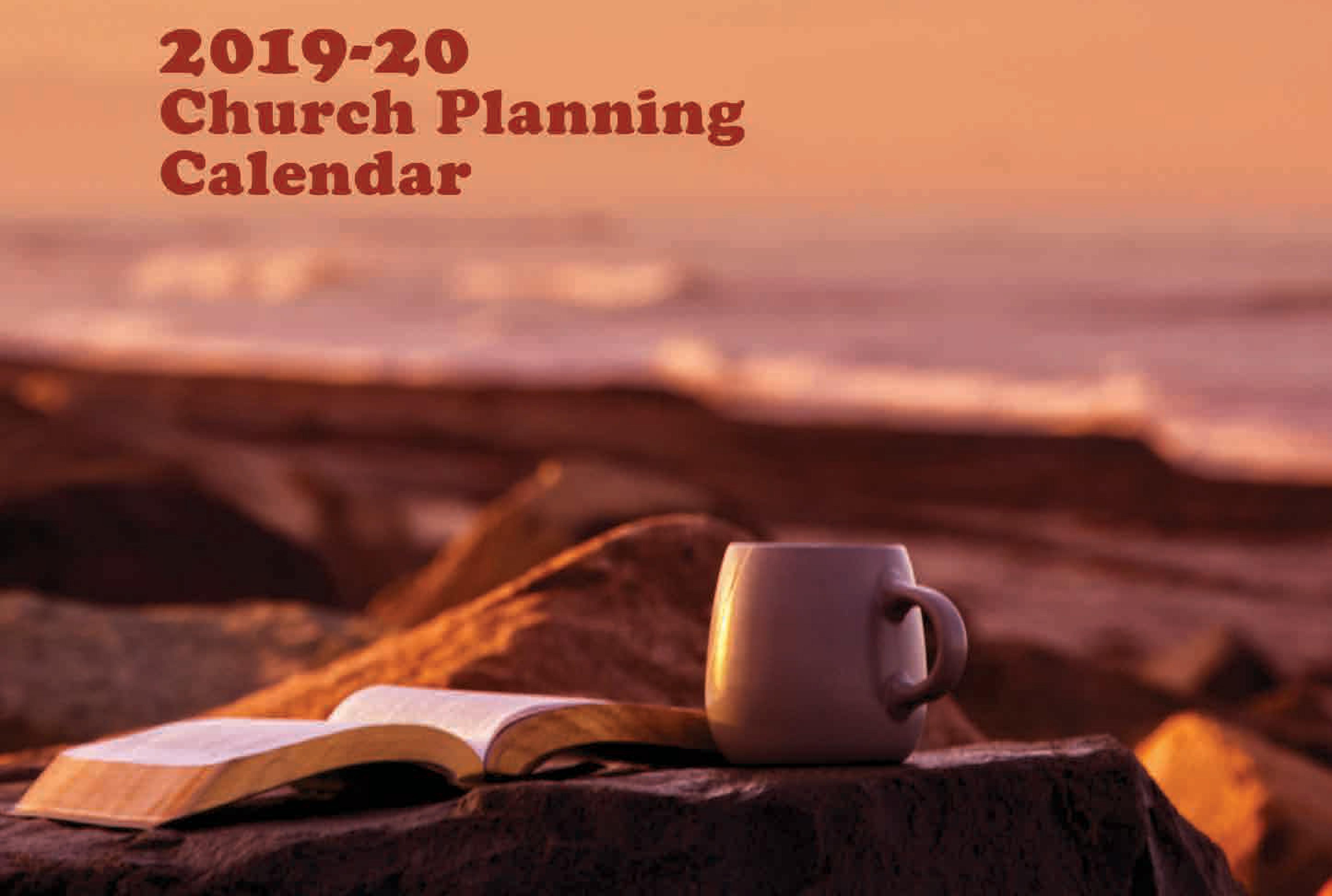 CSBC Church Planning Calendar