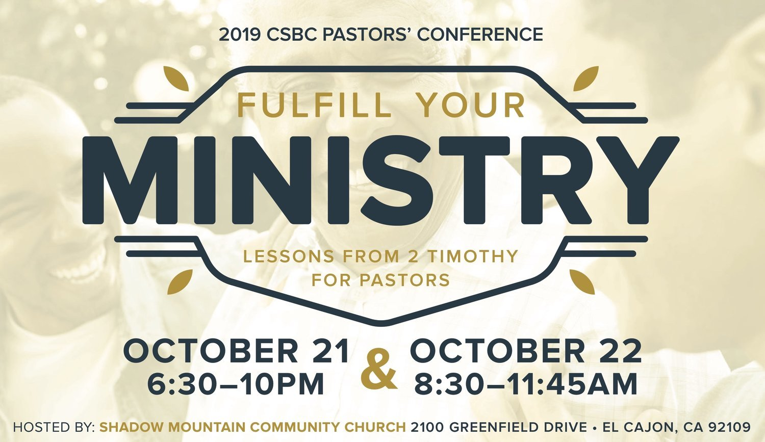 Pastors' Conference - California Southern Baptist Convention