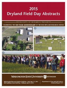 2015 Field Day Abstract cover