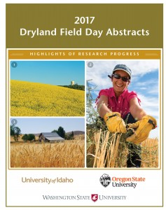 2017 Dryland Field Day Abstracts cover.