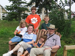 This is an image of Donald Stucky and family.