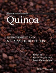 Book Cover of Quinoa: Improvement and Sustainable Production.