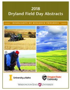 Cover page for the 2018 Field Day Abstracts.