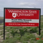 Wilke Farm sign.