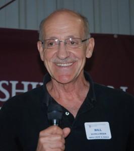William Schillinger speaking at Lind Field Day