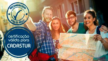 Curso Curso de referência técnica em Guia de Turismo - EAD online