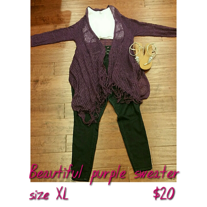 Purplesweater forsale