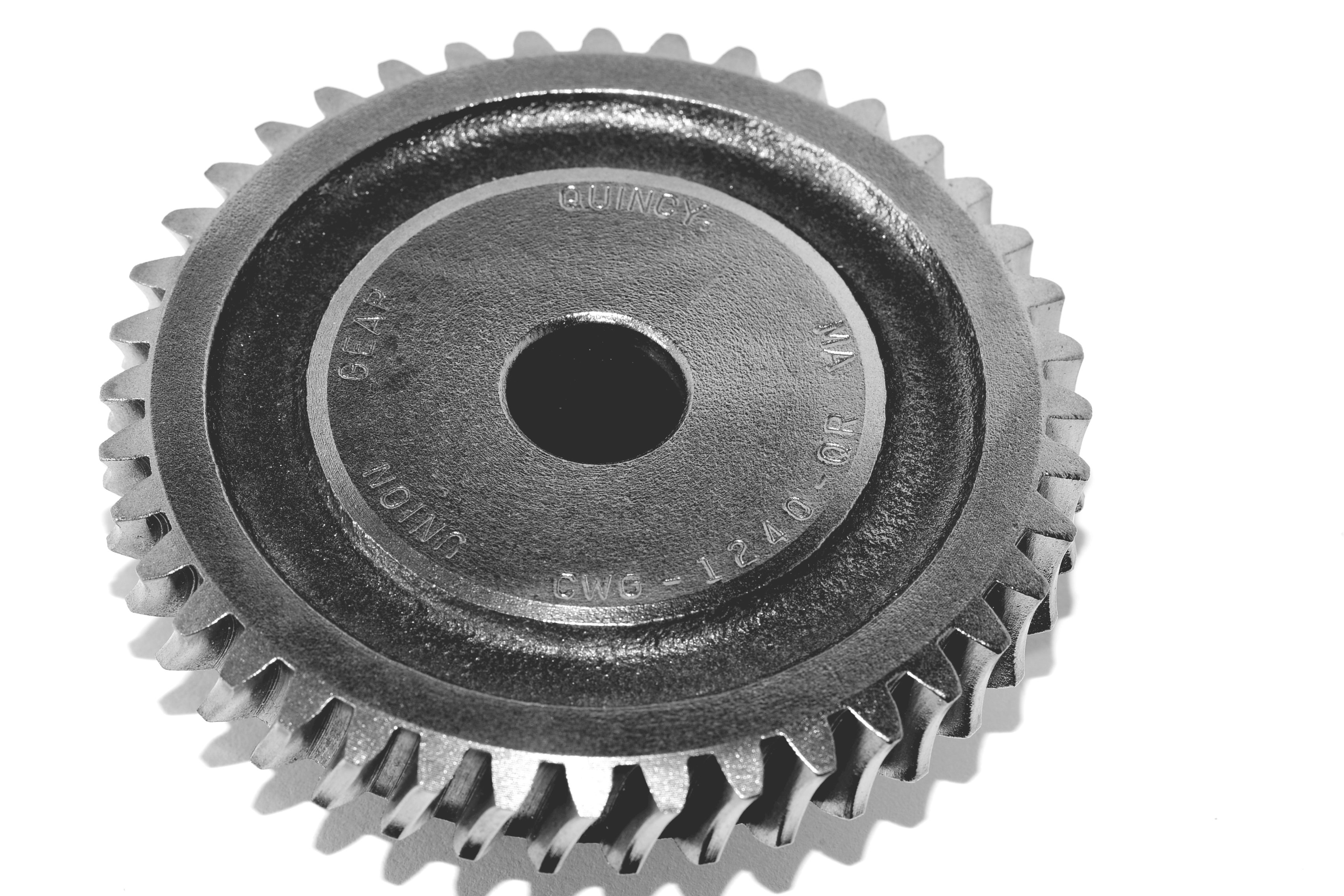 "New Union Gear  BWG-1218-SR Worm Gear  0.5/"" Bore 12 Pitch 18 Teeth"