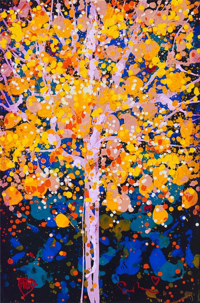Simon Bull original acrylic painting