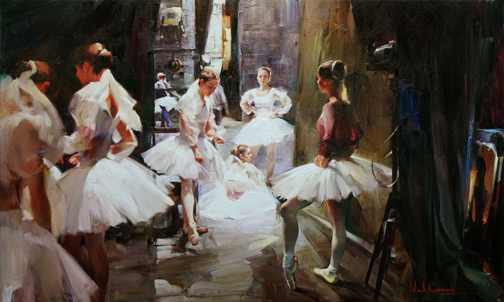 M & I Garmash Original Painting