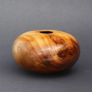 Mark Wood - Burned Lacquer Camphor Hollow Form