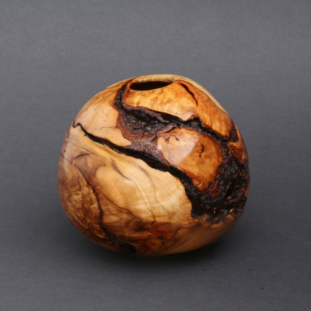 Cracked Camphor Hollow Form