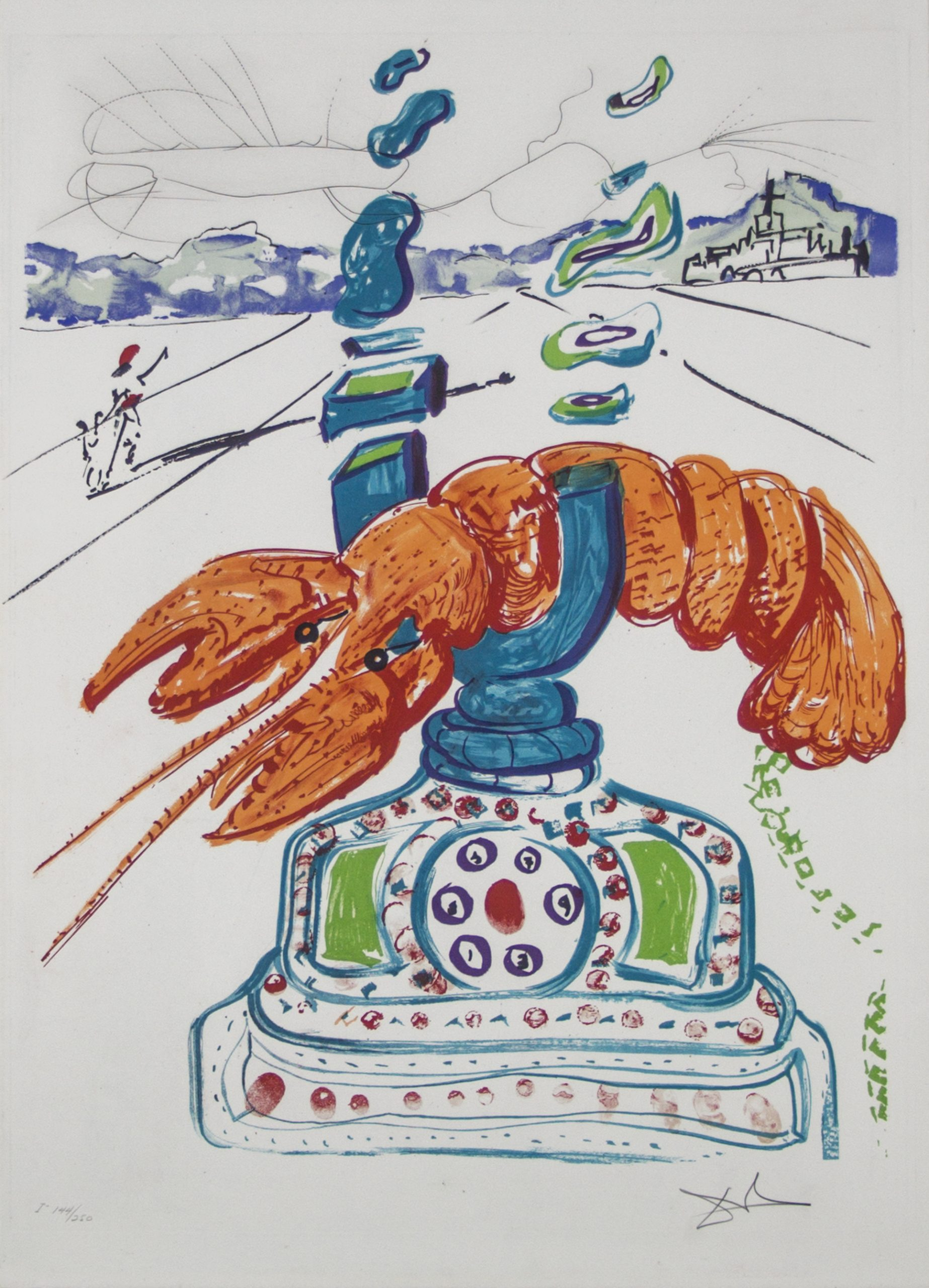 Salvador Dali Imaginations and Objects of the Future Suite
