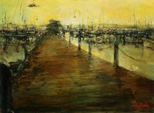 Stephen Shortridge - Dawn, Naples City Dock