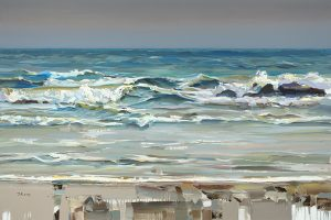 Josef Kote - Emerald Blue Rippling Waves