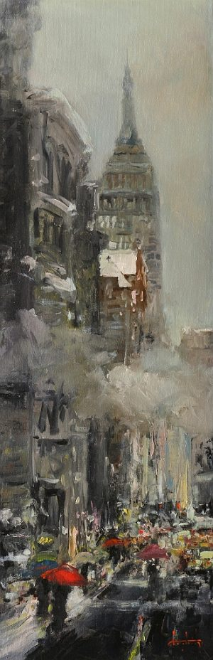 Stephen Shortridge - Evening Mist, NY
