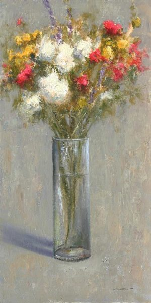 Matthew Cutter - Flowers & Vase