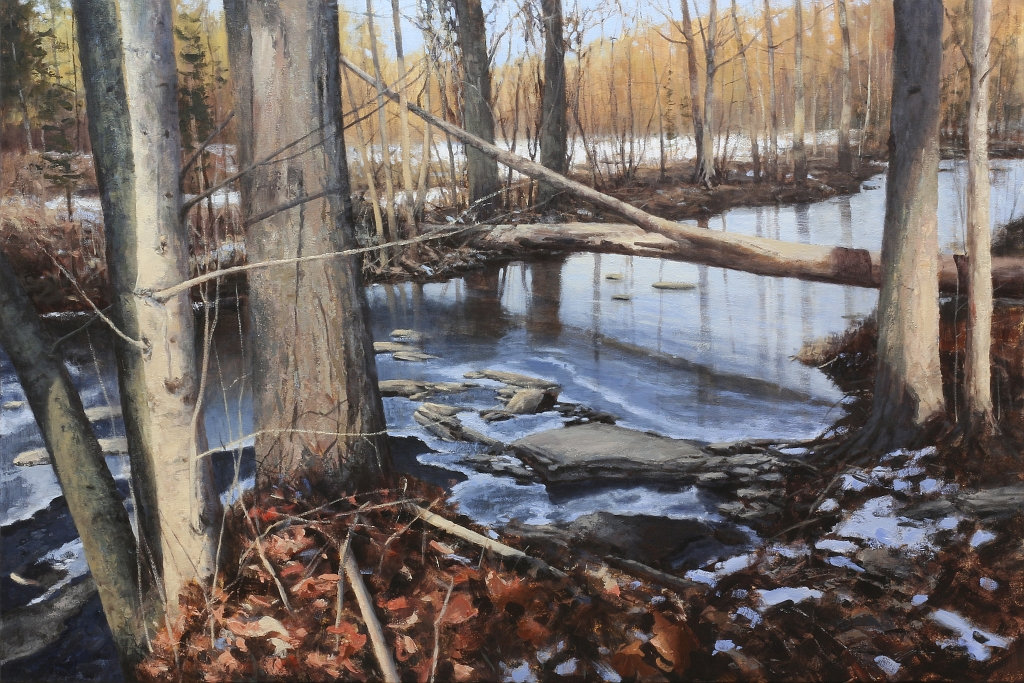 Matthew J. Cutter Original Landscape Painting